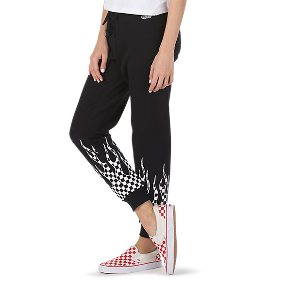 Checker Flame Sweatpant