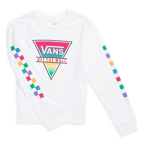 Girls Rainbow Triad Tee