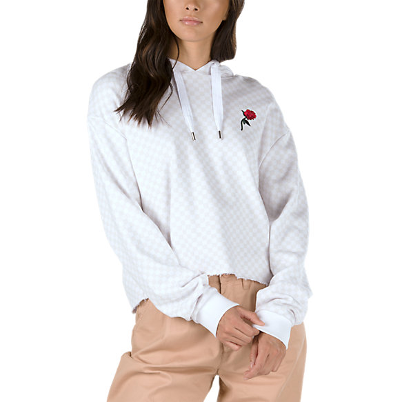 Leila Check Pullover Hoodie