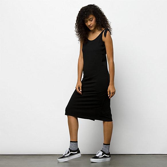 vans black dress