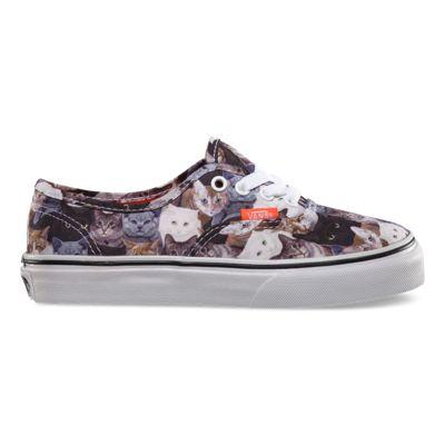 vans gatos zapatillas