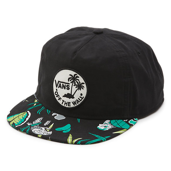 Dual Palm Island Snapback Hat  e3d94f8f454