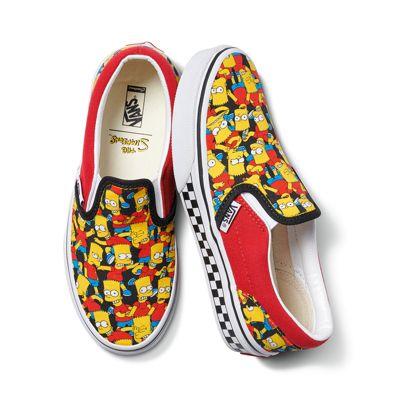 Vans The Simpsons x Vans Customs Kids Slip-On (Customs)