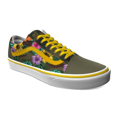 Vans Customs Tropical Camo Old Skool (Customs)