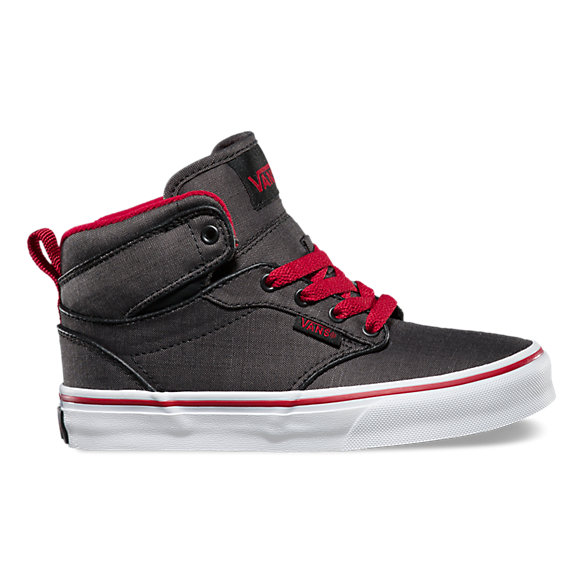 vans atwood hi black leather nz