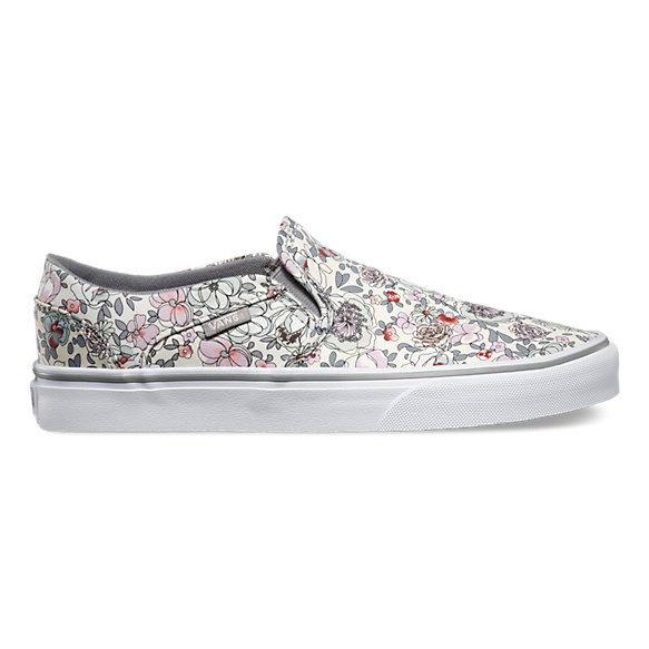 vans flower print shoes nz