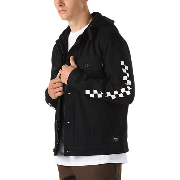 Precept Hooded Trucker Jacket