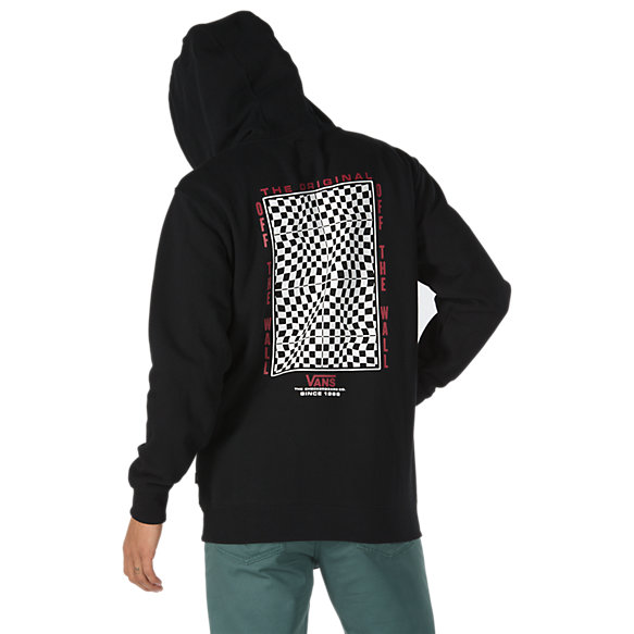 Warp Check Pullover Hoodie