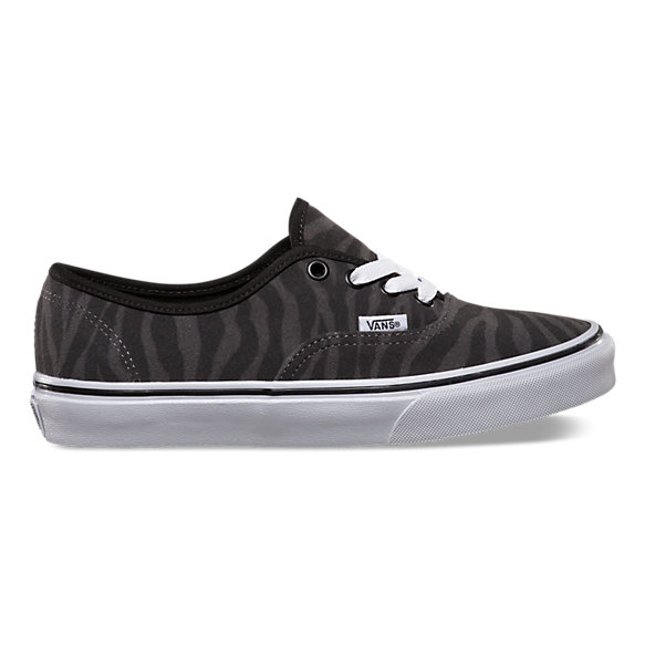 vans authentic zebra