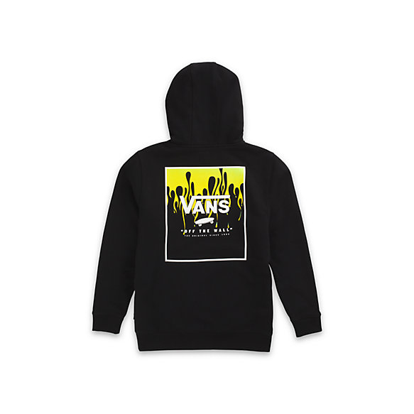 Boys Print Box Back Pullover Hoodie