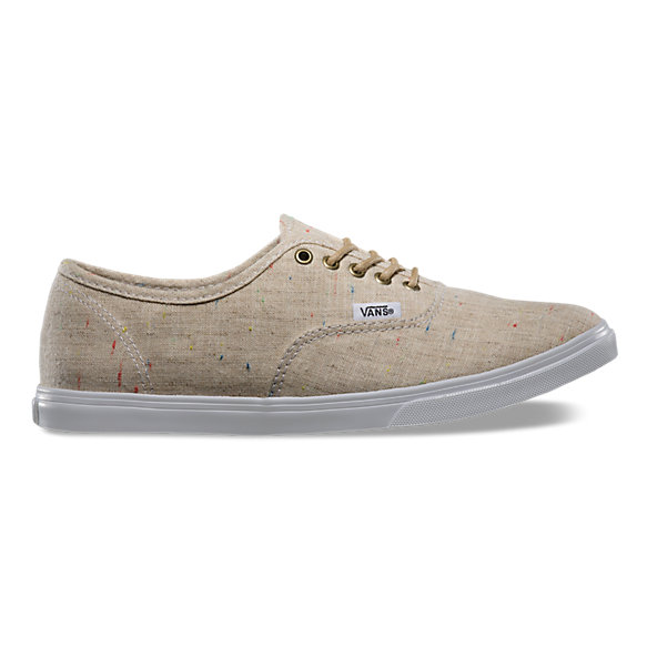 vans authentic lo pro beige