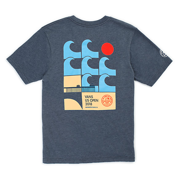 Boys 2018 VUSO Poster Short Sleeve T-Shirt | Shop Boys Tops At Vans