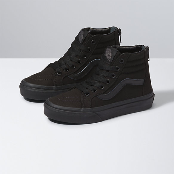 Kids Pop Check Sk8-Hi Zip