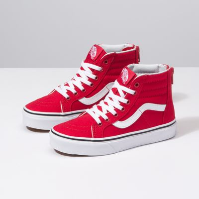 Kids Varsity SK8-Hi Zip | Shop Kids Shoes At Vans