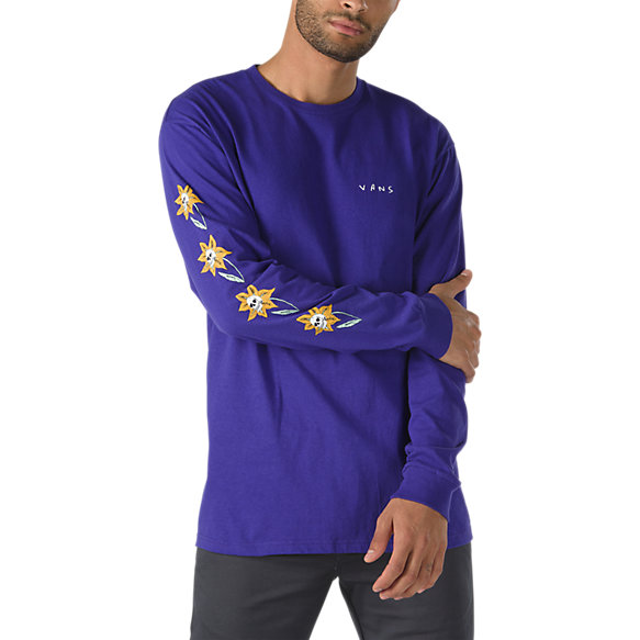 Skull Flower Long Sleeve T-Shirt