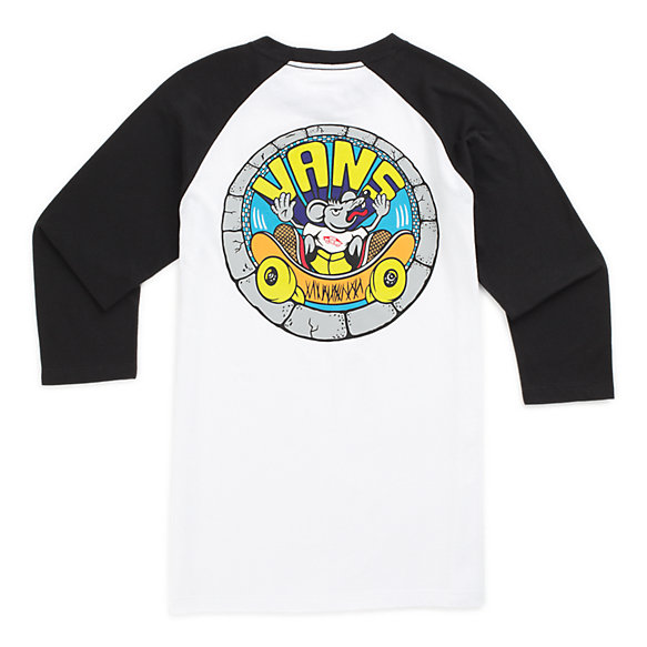 Boys Rippin Rat Raglan T-Shirt