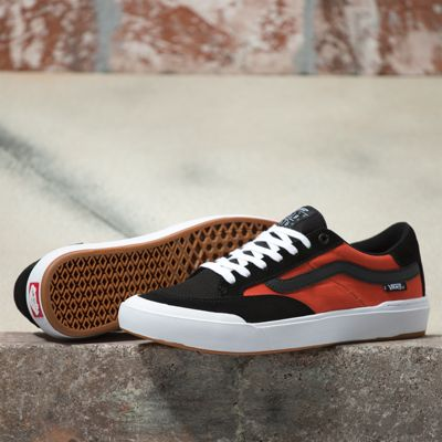 Vans Berle Pro (Black/Orange)