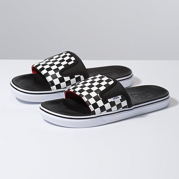 Checkerboard UltraCush Slide-On