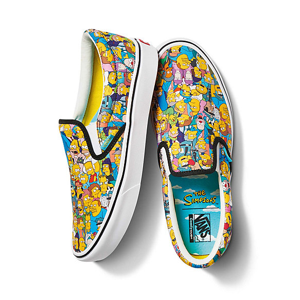 The Simpsons x Vans ComfyCush Slip-On