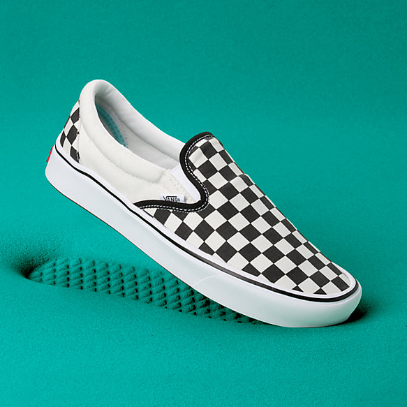 ComfyCush Checkerboard Slip-On