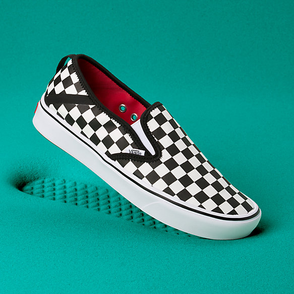 ComfyCush Checkerboard Slip-On SF