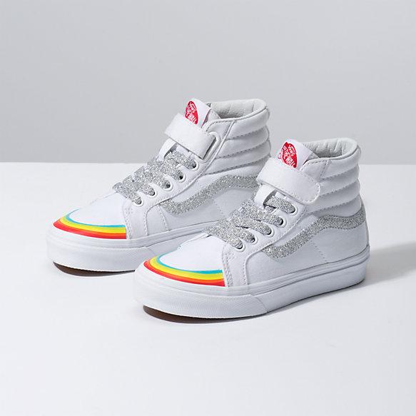 Kids Rainbow Toe Cap Sk8-Hi Reissue 138 V
