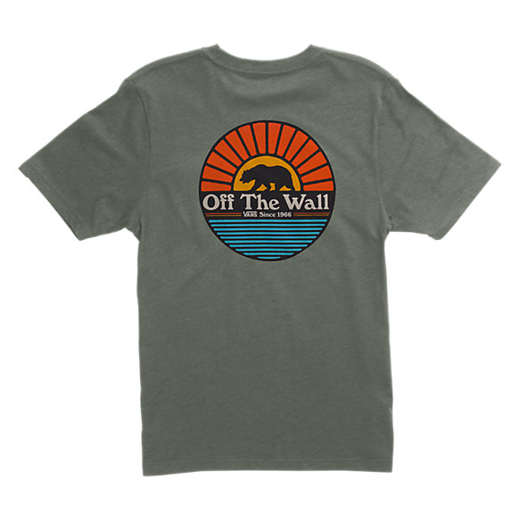 Boys Grizzly Sun Pocket T Shirt Vans Ca Store