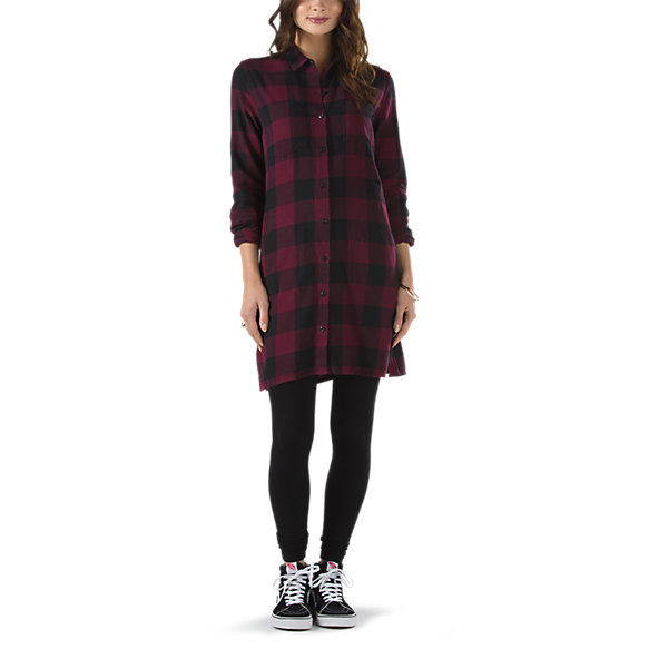 Brigade Flannel Dress | Shop At Vans