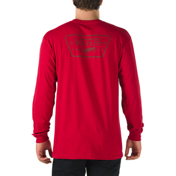 Full Patch Back Long Sleeve T-Shirt