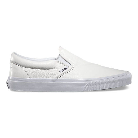 Premium Leather Slip-On