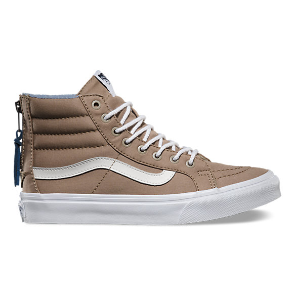 Chambray Dots SK8-Hi Slim Zip