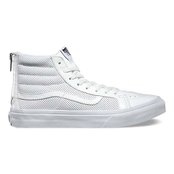 Perf Leather SK8-Hi Slim Zip  47796d990