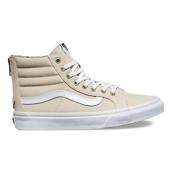 Vans SK8 Hi Slim beige