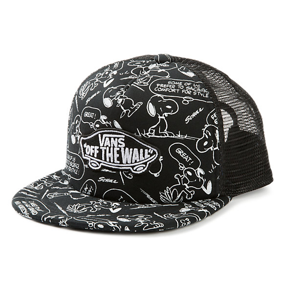 Boys Vans x Peanuts Classic Patch Trucker Plus Hat