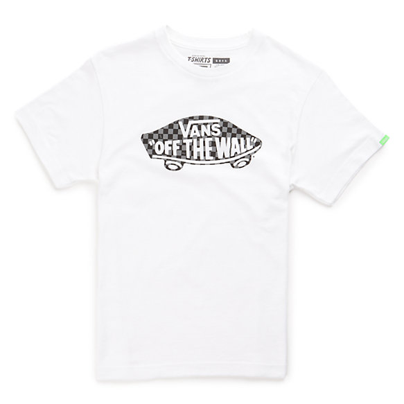 Boys OTW Checker Fill Tee