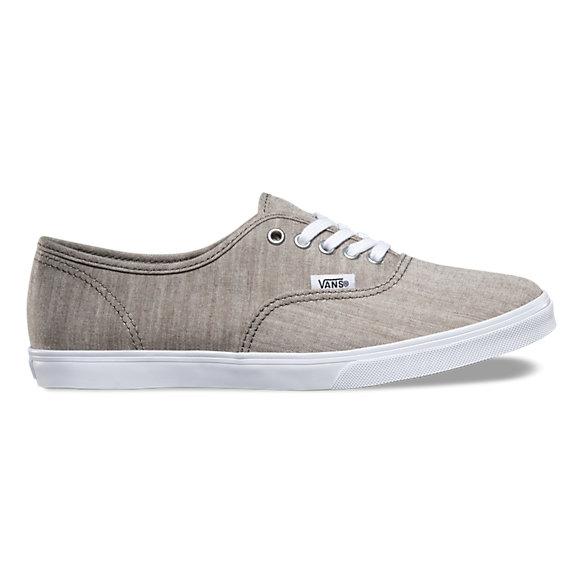 8608997a32f4af Floral Chambray Authentic Lo Pro