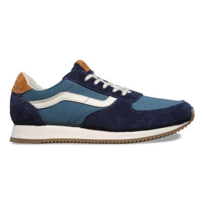 Mens Shoes - Vans Runner 2 Tone  Blue Night