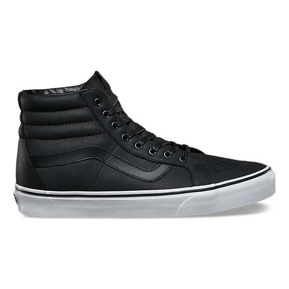 16de8763ff2 Premium Leather SK8-Hi Reissue