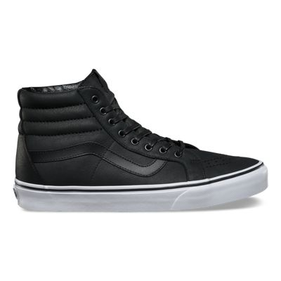Unisex Shoes Vans SK8-Hi Reissue (Premium Leather) Black