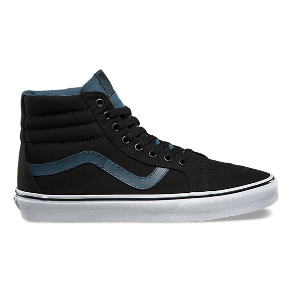 vans skate high black