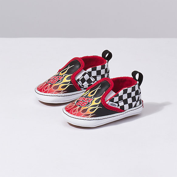 Infant Race Flame Slip-On V Crib