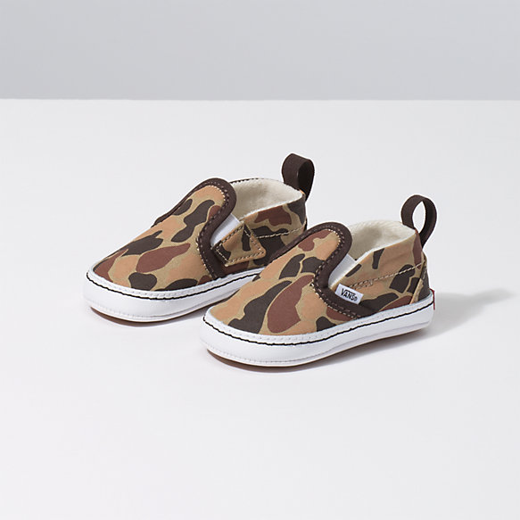 Infant Vintage Camo Slip-On V Crib