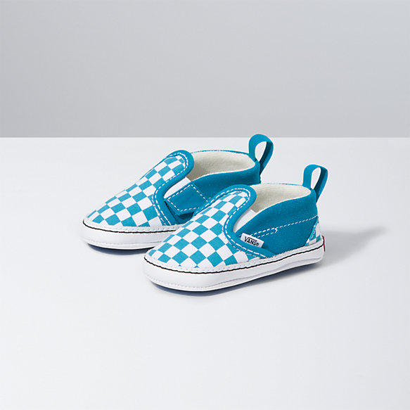 Infant Checkerboard Slip-On V Crib