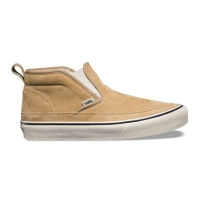 Vans Mid Slip Sf Mens Khaki Sneakers