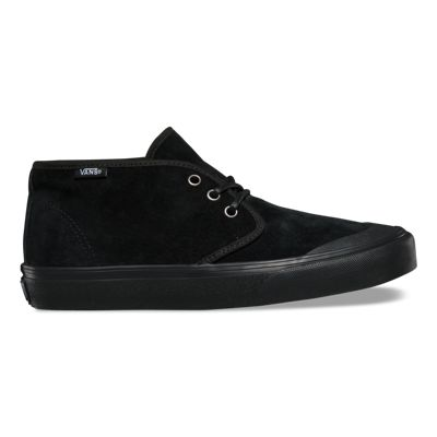 Women's Prairie Chukka (MTE) Black Skateboarding Shoes