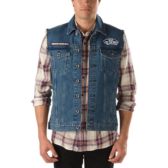 Vans x Independent Denim Vest | Shop Jackets At Vans
