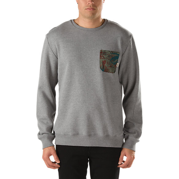 Middleton Pocket Crew Sweatshirt