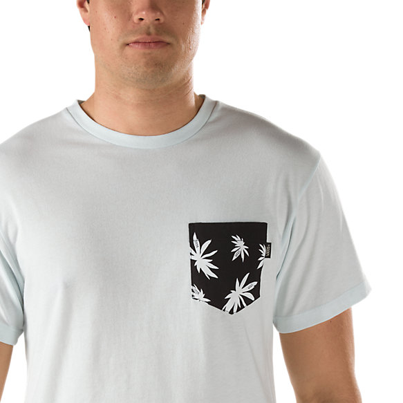 Palm Leaf Pocket Tee