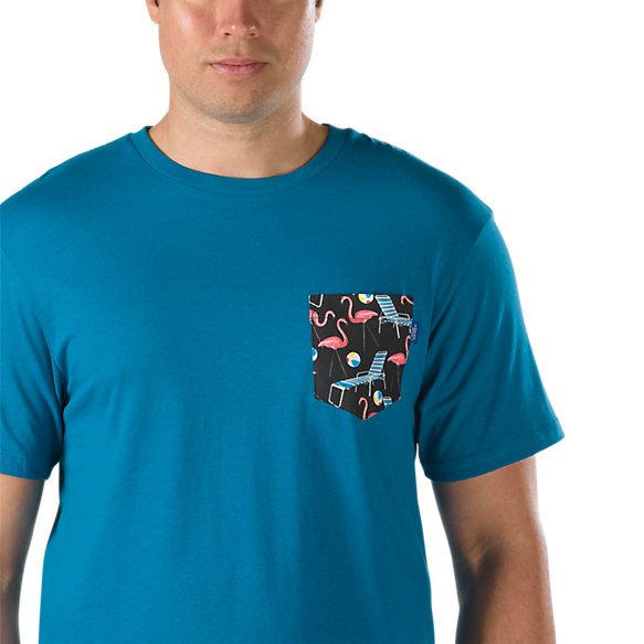 Printed pocket t shirt shop mens t shirts at vans for Pocket t shirt printing