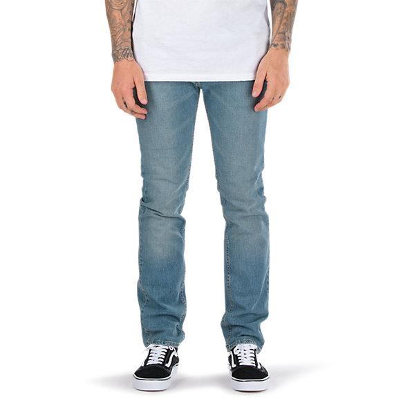 97bbee6f8a V16 Washed Indigo Slim Jean | Shop Mens Jeans At Vans